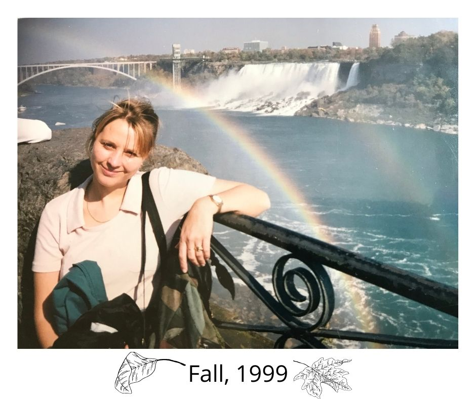 Photo of our first fall in Canada 1999
