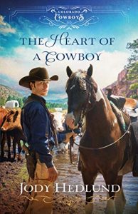 Cowboy and horse, book 2 cover by Jody Hedlund